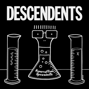 Loud Feedback Music Review: Descendents - Hypercaffium Spazzinate Album Cover