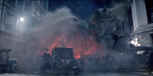 Hats off to the VFX team. The Obscurus is awesome.