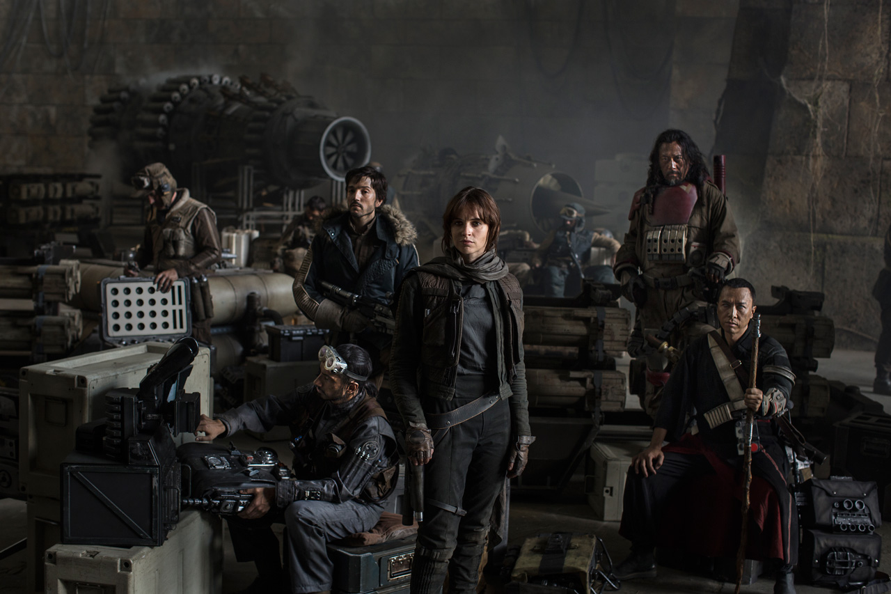 Loud Feedback Movie Review Rogue One A Star Wars Story Cast