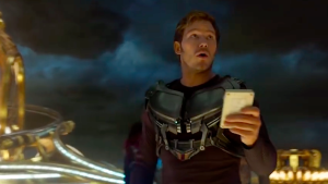 Chris Pratt was born to play this role, even when the scenes are green-screeny.